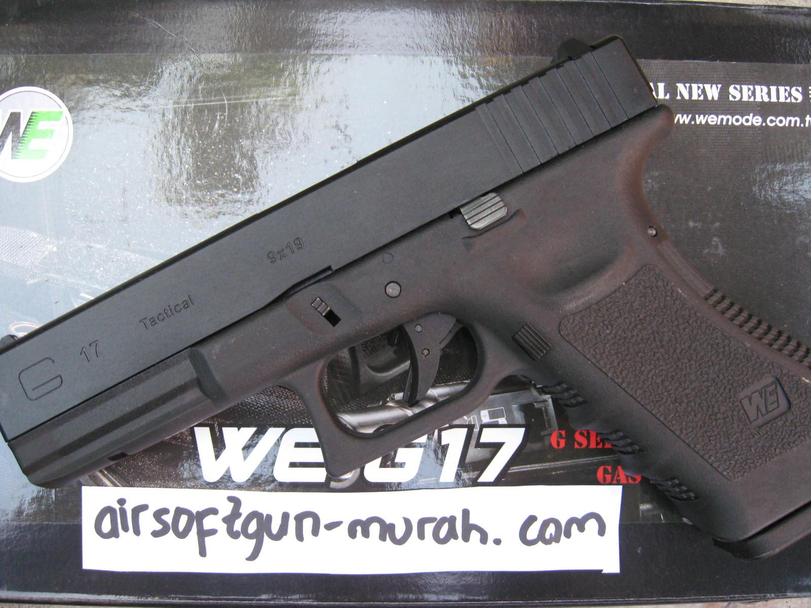 Airsoftgun Murah Glock 17 (WE)